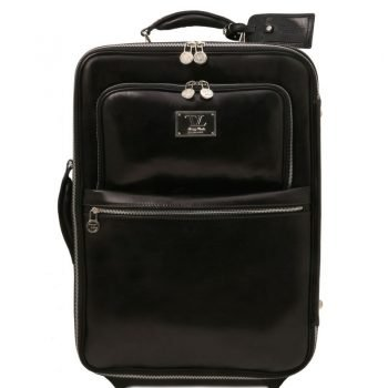 TL VOYAGER 2 Wheels vertical Leather trolley