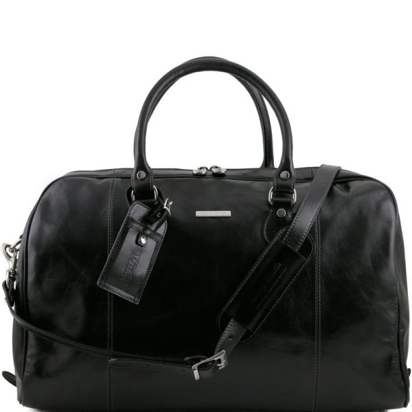TL VOYAGER Travel leather duffle bag