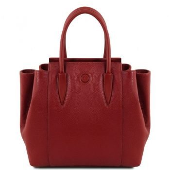 TULIPAN Leather handbag