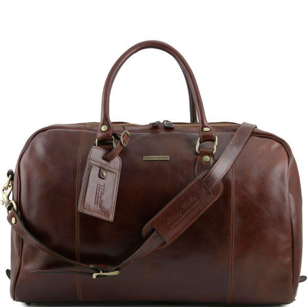 Travel Leather Duffle Bag - Saint-Cyr