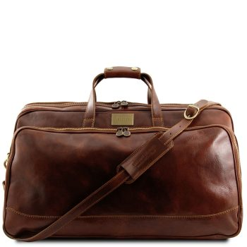 Trolley Leather Bag - Large Size - Bora Bora