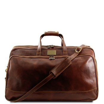 Trolley Leather Bag - Small Size - Bora Bora