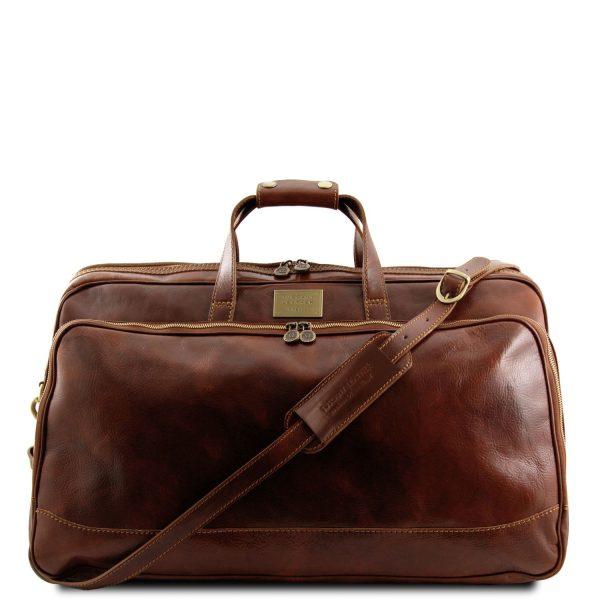 Trolley Leather Bag - Small Size - Bora Bora