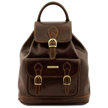 Unisex Leather Backpack - Singapore
