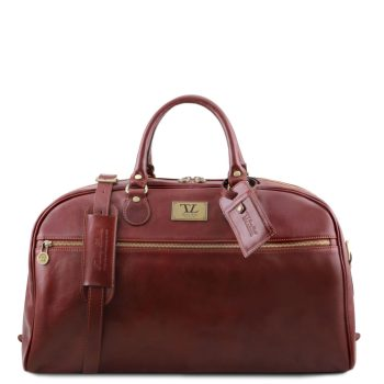 Voyager Leather Travel Bag - Large Size - Hostun