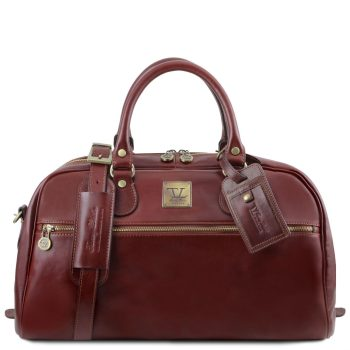 Voyager Travel Leather Bag - Small Size - Hostun