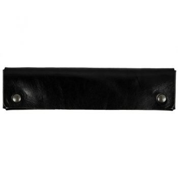 Black Leather Pen Case Holder - Appointment in Samara
