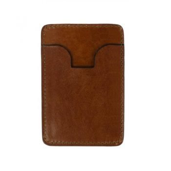 Brown Leather Credit Card Case Business Card Case