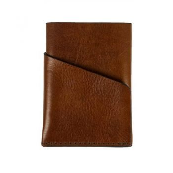 Brown Leather Credit Card Holder - Practical magic