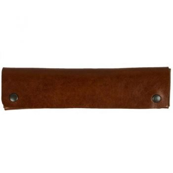 Brown Leather Pen Case Holder - Appointment in Samara