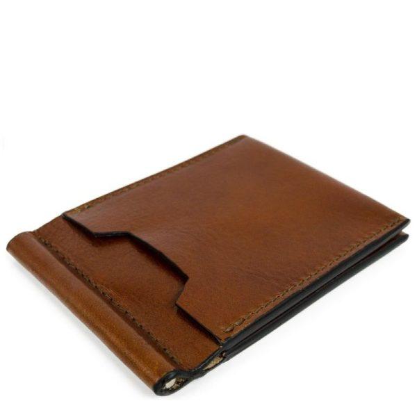 Leather Money Clip Wallet - Tom Jones - 1