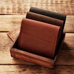 Nahast rahakotid