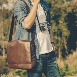 Leather Reporter Bags