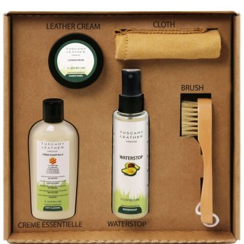 Leather Care Products Complete Set
