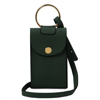Leather Cellphone Holder Mini Cross Bag