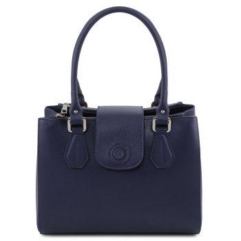 Leather Handbag - Fiordaliso