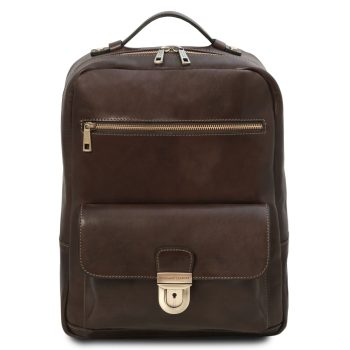 Leather Laptop Backpack - Kyoto
