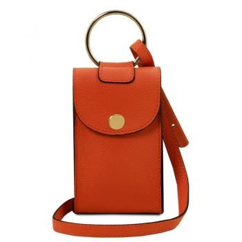 Leather cellphone holder mini cross bag TL BAG