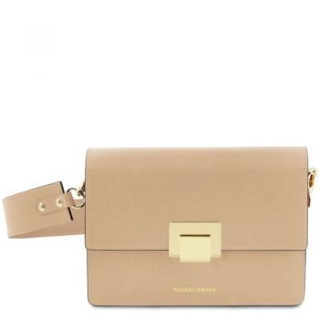 Leather clutch ADELE