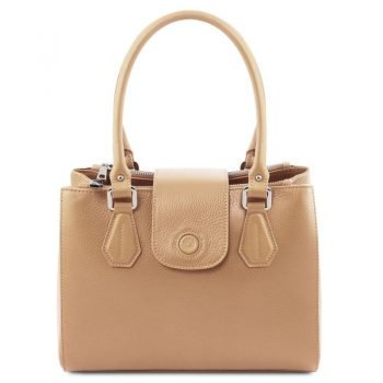 Leather handbag FIORDALISO