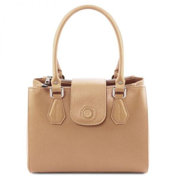 Leather handbag FIORDALISO