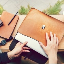 Leather Laptop Sleeves