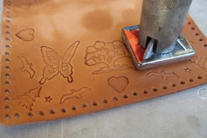 leather stamping