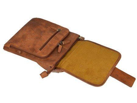 Light Brown Minimalist Handbag For Men