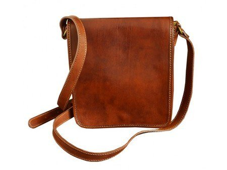 Orange Classic Carefree Messenger Bag