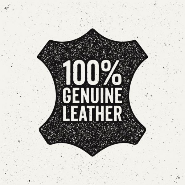 Que signifie létiquette cuir véritable