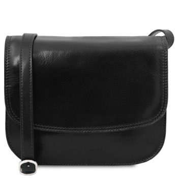 Lady Leather Bag - Greta - Black