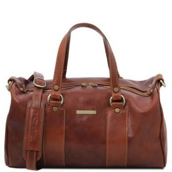 Leather Maxi Duffle Bag - Lucrezia