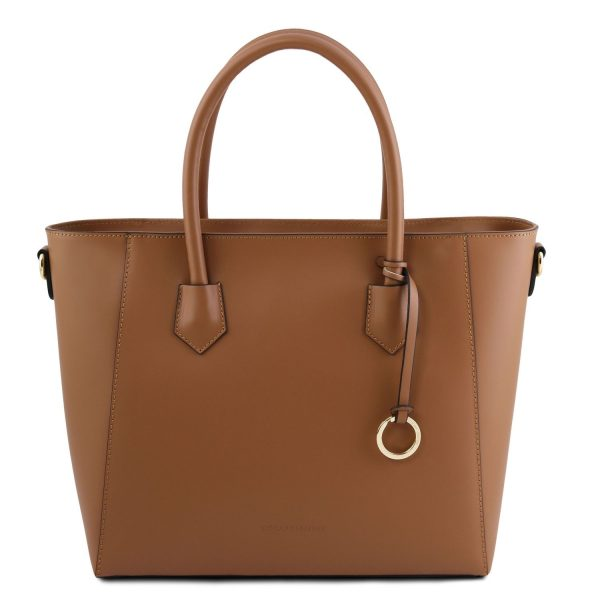 Leather Tote Bag For Women - Aria