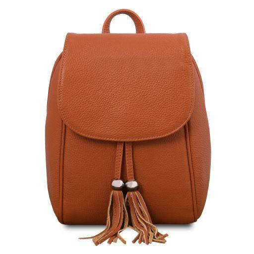 Soft Leather Backpack - TL Bag