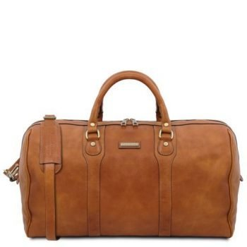 Travel Leather Duffle Bag - Weekender bag - Oslo