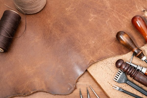 What is Semi Aniline Leather