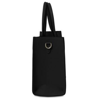 Leather Vertical Tote Bag - Medea 2