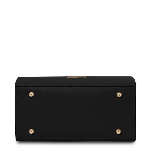 Leather Vertical Tote Bag - Medea 3