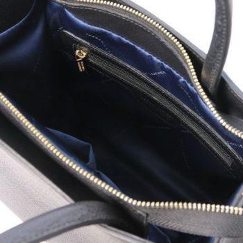 Leather Vertical Tote Bag - Medea 5