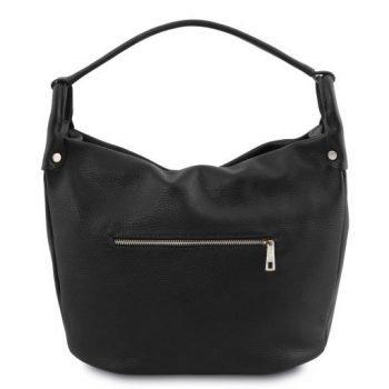 Soft Leather Hobo Bag - Lundi 2