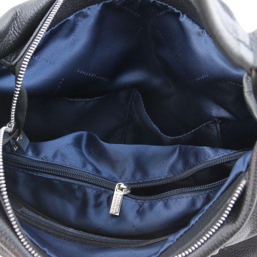 Soft Leather Hobo Bag - Lundi 5