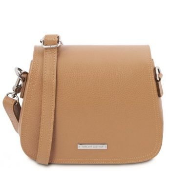 Leather Shoulder Bag - Jasmine