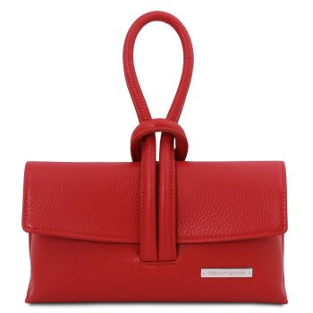 Leather Clutch Bag - Lussan