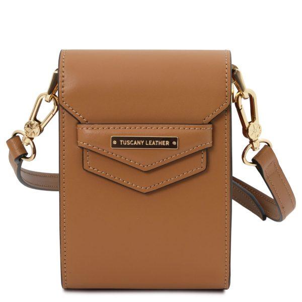 Leather Mini Shoulder Bag - Apt