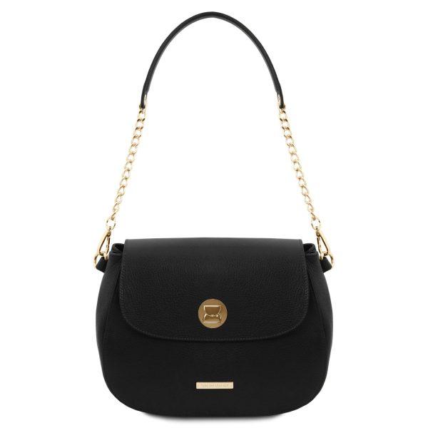 Leather Shoulder Bag for Women - Fresia