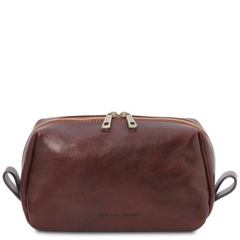 Leather Toiletry Bag - Owen