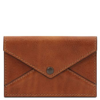 Leather business card - credit card holder - Pamiers