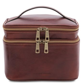 Leather Toiletry Bag - Eliot