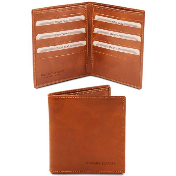 Exclusive 2-Fold Leather Wallet – Villemus