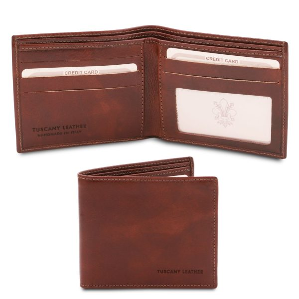 Exclusive 2-Fold Leather Wallet for Men – Rustrel
